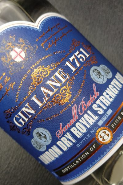 Gin Lane Dry Royal Strength